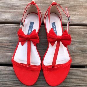 Sarah Jessica Parker Tots Grosgrain Dress Sandal